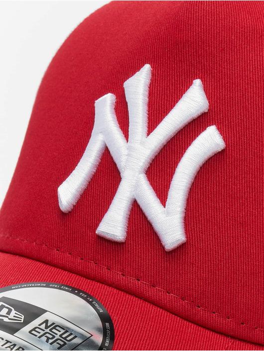 New Era Trucker Cap Clean NY Yankees rot