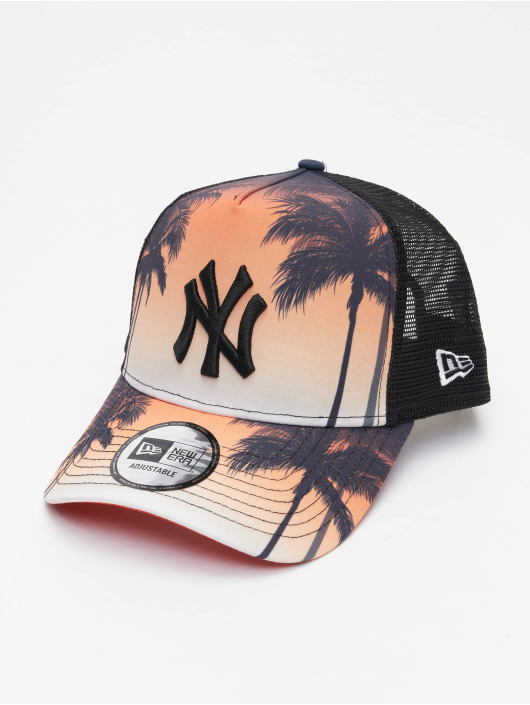 New Era Trucker Cap MLB New York Yankees Summer City 9Forty schwarz