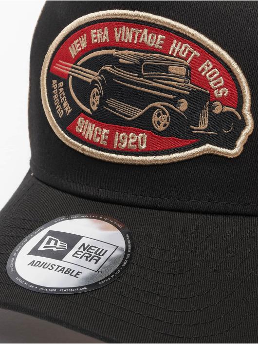 New Era Trucker Cap Hot Rod 9Forty schwarz