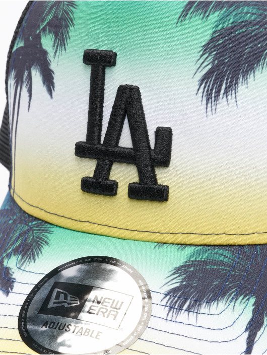 New Era Trucker Cap MLB Los Angeles Dodgers Summer City 9Forty schwarz