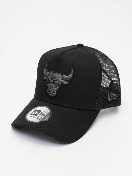 New Era Trucker Cap NBA Chicago Bulls Bob Team schwarz
