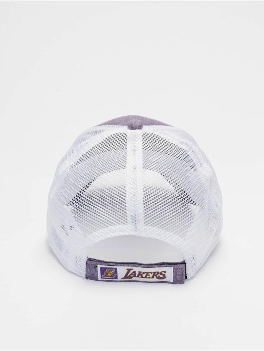 promo code 51510 4b6e1 New Era Trucker Cap NBA Los Angeles Lakers Summer League 9forty violet
