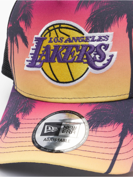 New Era trucker cap NBA Los Angeles Lakers Summer City 9Forty zwart