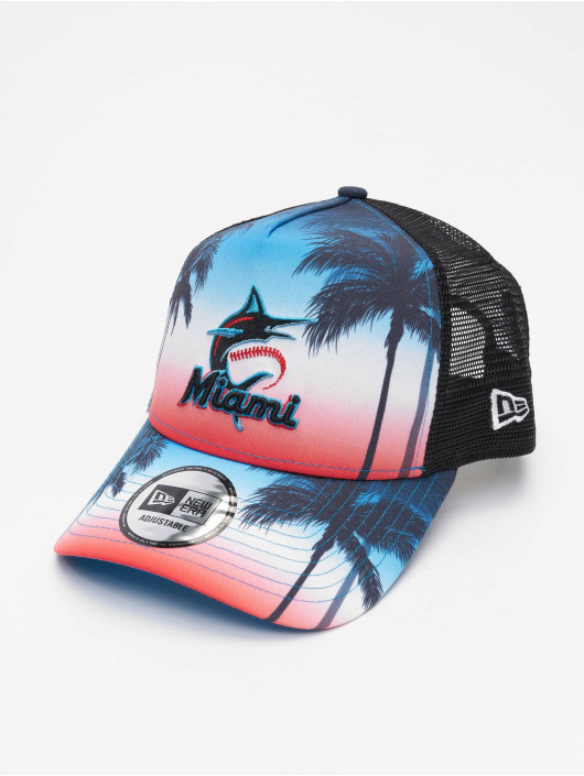 New Era trucker cap MLB Miami Marlins Summer City 9Forty zwart