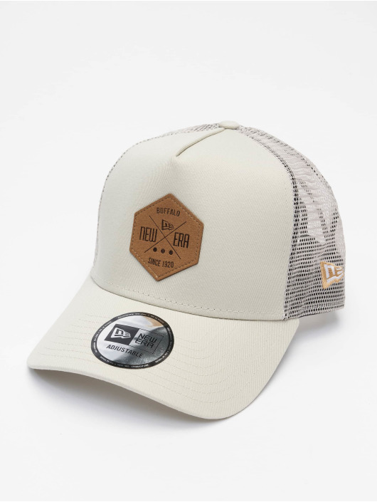 New Era Trucker Caps Ne bezowy