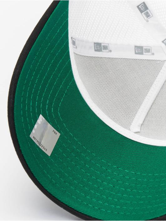 New Era Trucker Caps NBA Boston Celtics Neoprene 9forty A-Frame bialy