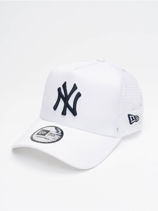 New Era Trucker Caps MLB NY Yankees League Essential bialy