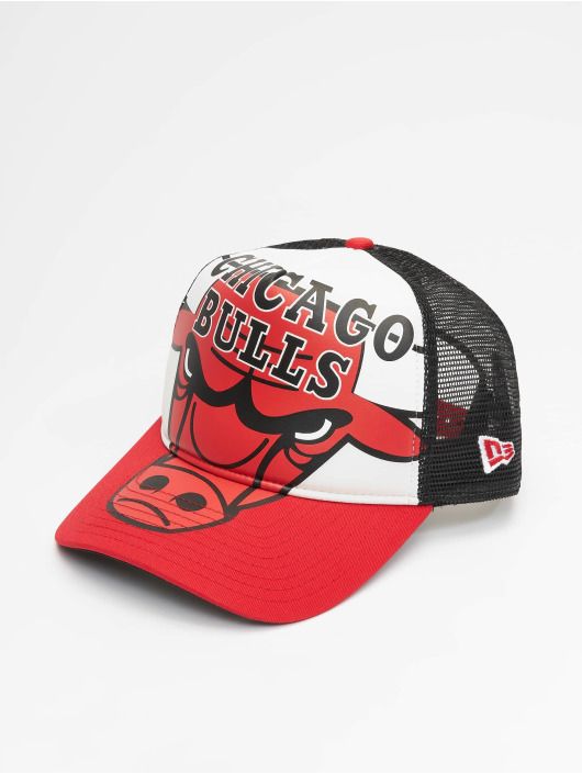 New Era Trucker Caps NBA Chicago Bulls Retro Pack 9Forty AF czarny