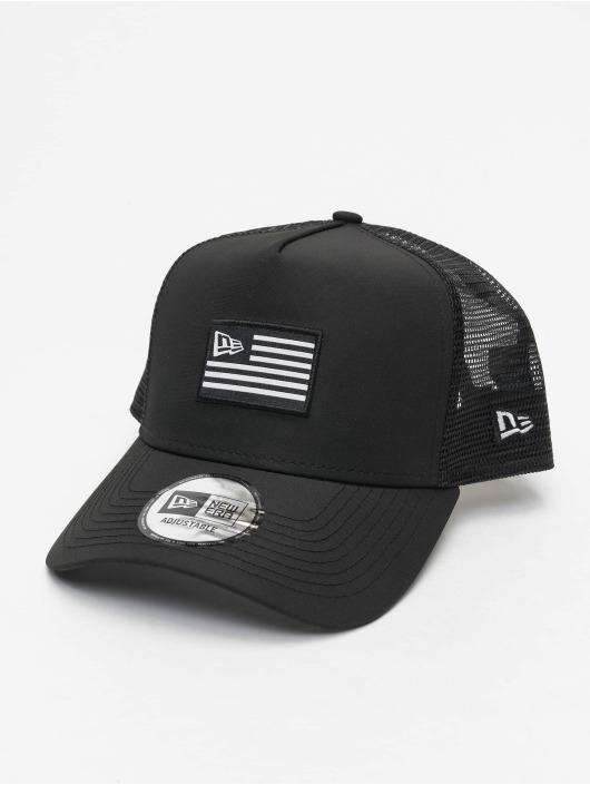 New Era Trucker Caps US czarny