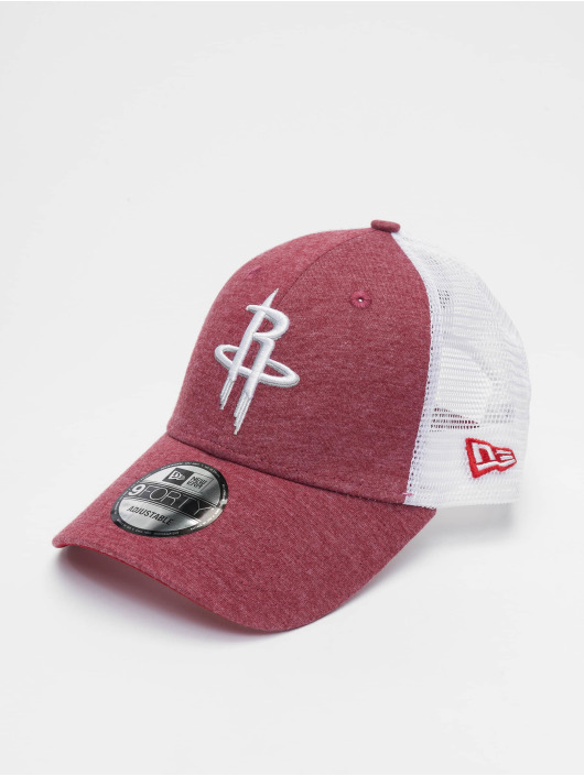 New Era Trucker Caps NBA Houston Rockets Summer League 9forty czerwony