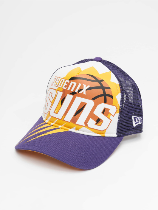New Era Trucker Caps NBA Phoenix_Suns Retro Pack 9Forty AF fioletowy