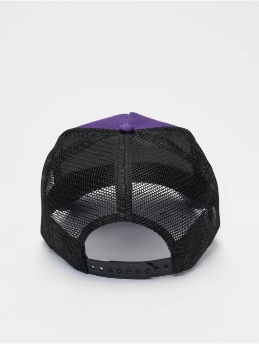 New Era Trucker Caps NBA LA Lakers Shadow Tech 9forty A-Frame fioletowy