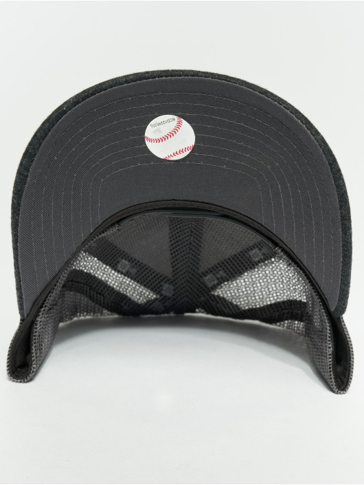 New Era Trucker Caps MLB Essential Los Angeles Dodgers 9 Fourty Aframe grå