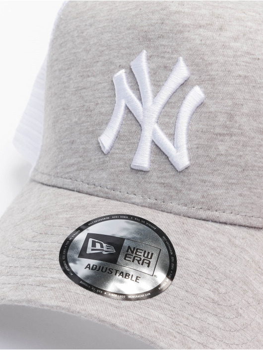 New Era Trucker Caps MLB NY Yankees Jersey grå