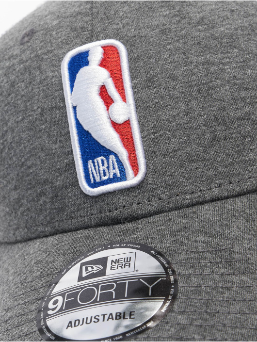 New Era Trucker Caps NBA Logo Home Field 9Forty grå
