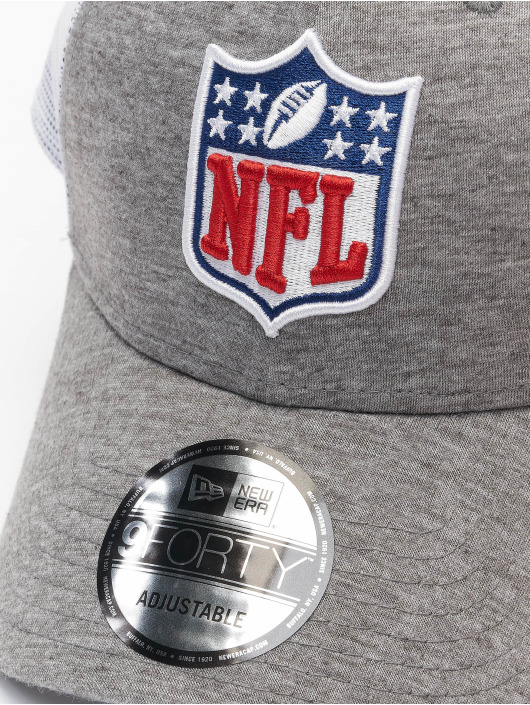 New Era Trucker Caps NFL Generic Logo Home Field 9Forty grå