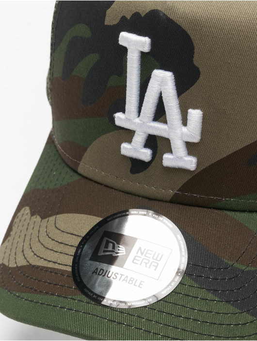 New Era Trucker Caps MLB LA Dodgers Camo Ess 9Forty AF grøn