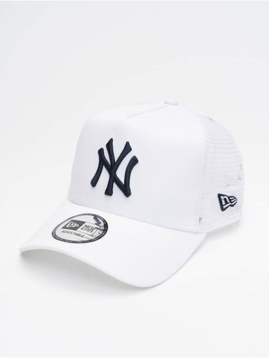 New Era Trucker Caps MLB NY Yankees League Essential hvid