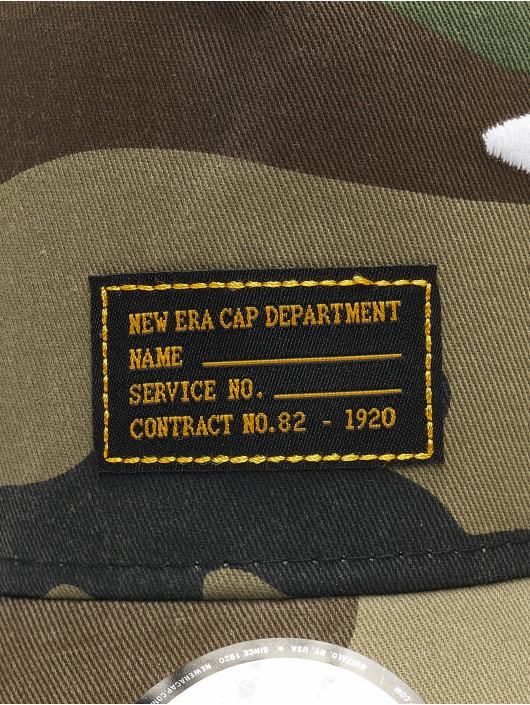 New Era Trucker Caps Military Flower kamuflasje