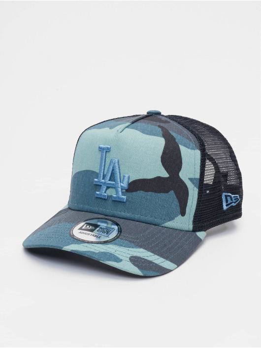 New Era Trucker Caps MLB Camo Essential Trucker LA Dodgers 9Forty moro