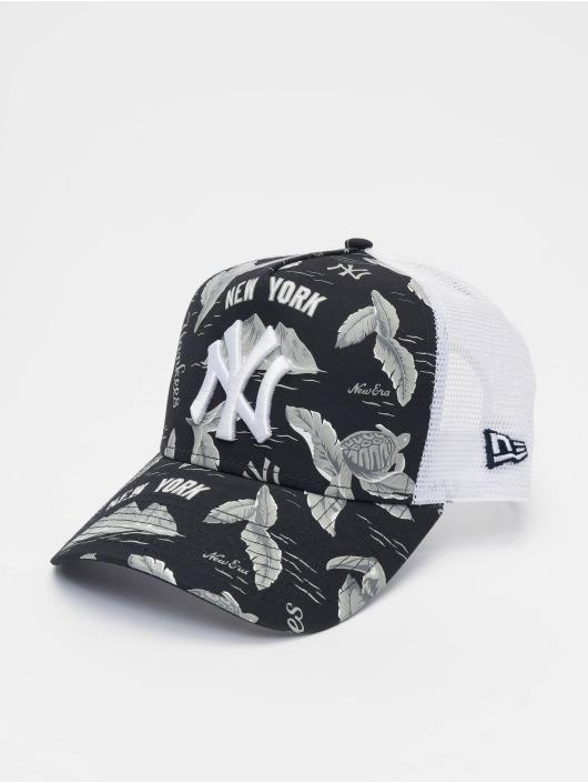 New Era Trucker Caps MLB NY Yankees Desert Island 9forty A-Frame niebieski