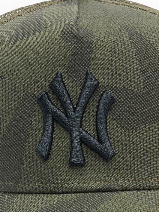 New Era Trucker Caps MLB New York Yankees Multi Camo 9Forty AF oliven