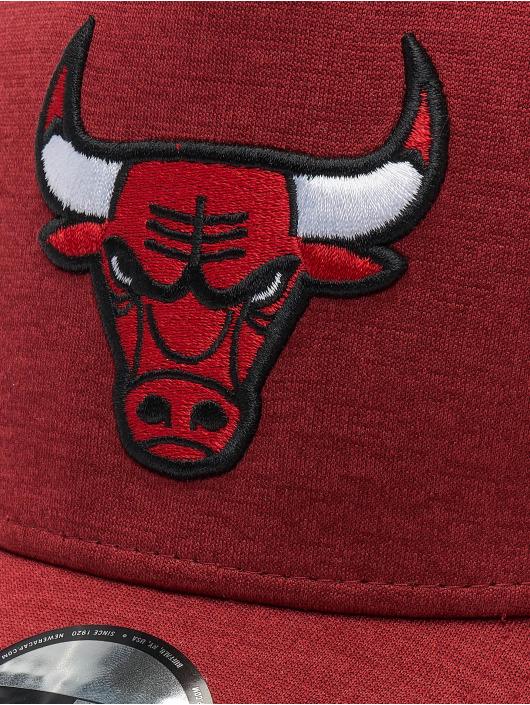 New Era Trucker Caps NBA Chicago Bulls Shadow Tech 9forty A-Frame red