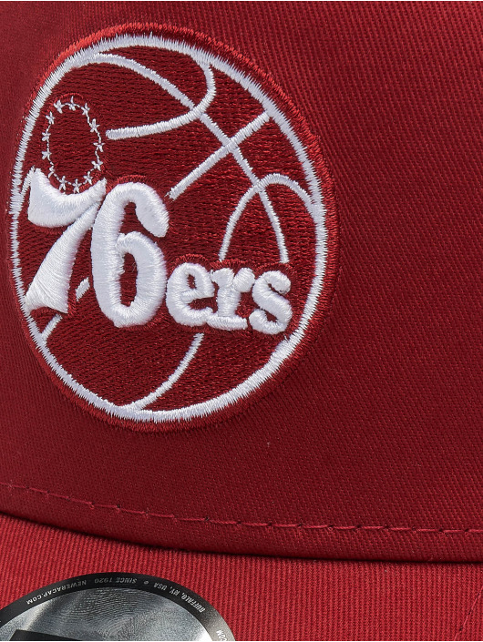 New Era Trucker Caps NBA Philadelphia 76ers Essential 9forty A-Frame red