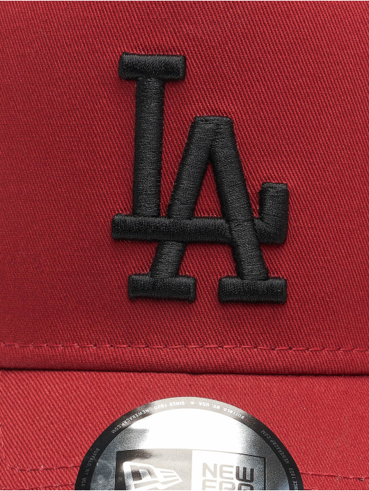 New Era Trucker Caps MLB Los Angeles Dodgers League Essential red