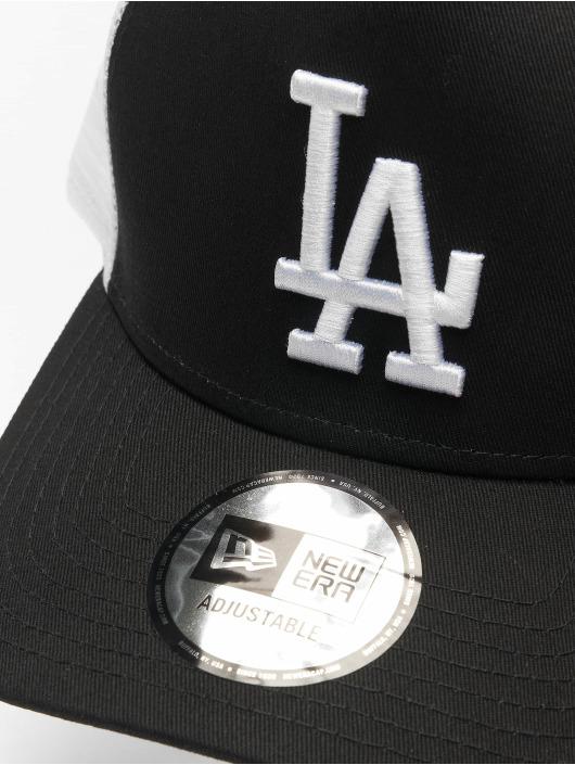 New Era Trucker Caps Clean LA Dodgers svart
