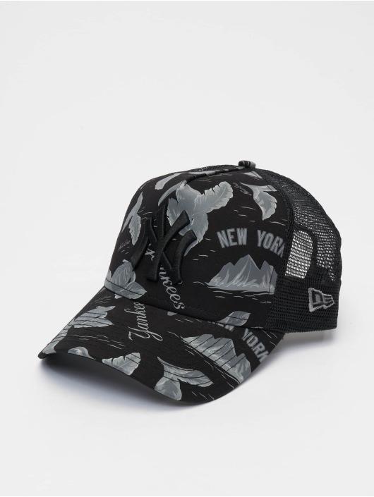 New Era Trucker Caps MLB NY Yankees Desert Island 9forty A-Frame svart