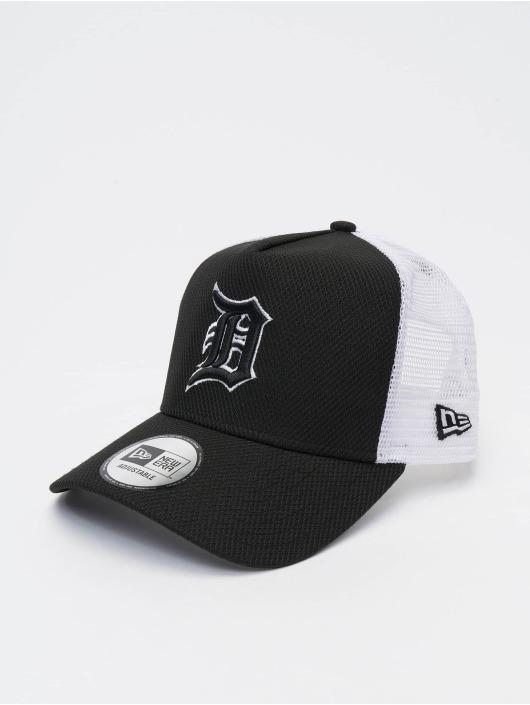 New Era Trucker Caps MLB Detroit Tigers Diamond Era 9forty A-Frame svart
