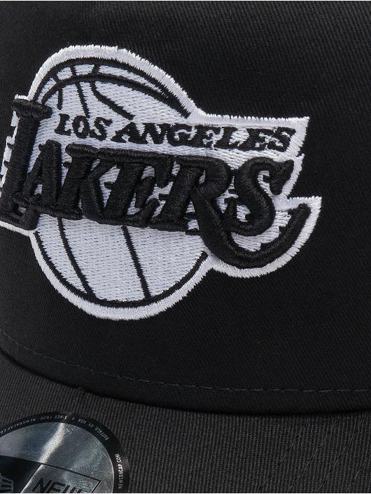 New Era Trucker Caps NBA Los Angeles Lakers Essential 9forty A-Frame svart