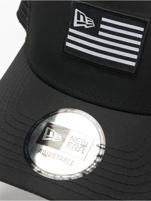 New Era Trucker Caps US svart