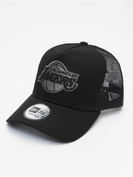 New Era Trucker Caps NBA LA Lakers Bob svart