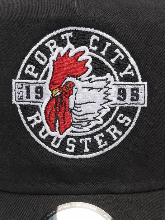 New Era Trucker Caps Minor League Portland Beavers Patch 9Forty AF svart