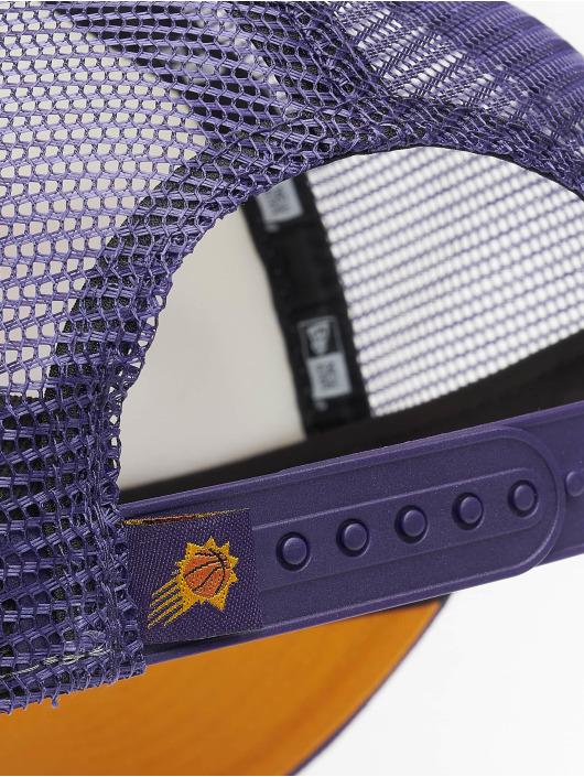 New Era Trucker NBA Phoenix_Suns Retro Pack 9Forty AF fialová