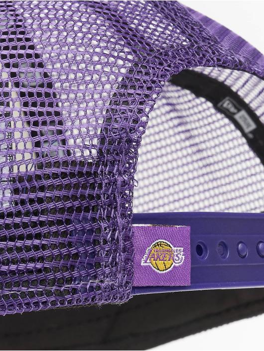 New Era Trucker LA Lakers Retro Pack 9Forty AF fialová
