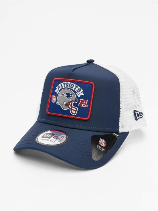 New Era Trucker NFL New England Patriots Wordmark modrá