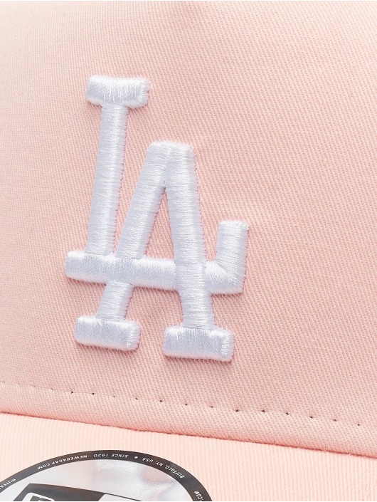New Era Trucker Los Angeles Dodgers League Essential 9forty A-Frame pink