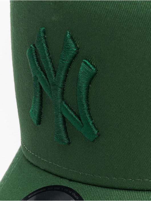 New Era Trucker MLB NY Yankees League Essential A-Frame zelená
