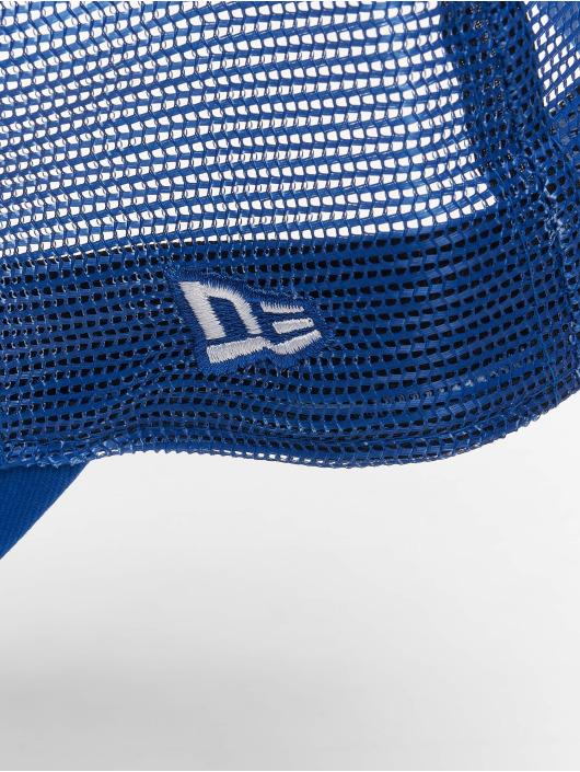 New Era Truckerkeps Mlb Properties Los Angeles Dodgers Tonal Mesh blå