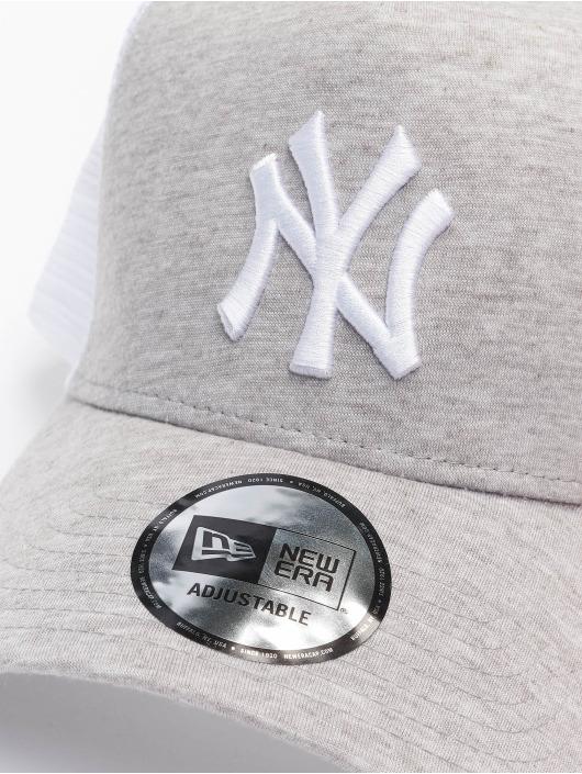 New Era Truckerkeps MLB NY Yankees Jersey grå