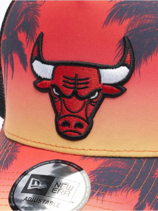 New Era Truckerkeps NBA Chicago Bulls Summer City 9Forty svart