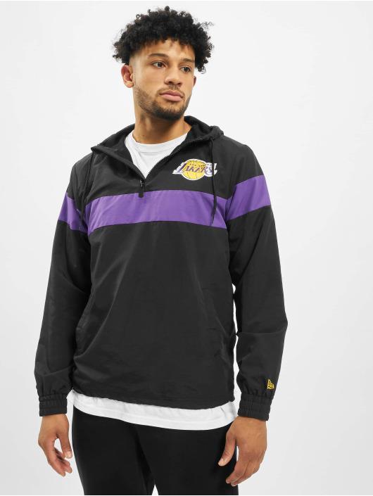 New Era Übergangsjacke NBA LA Lakers schwarz