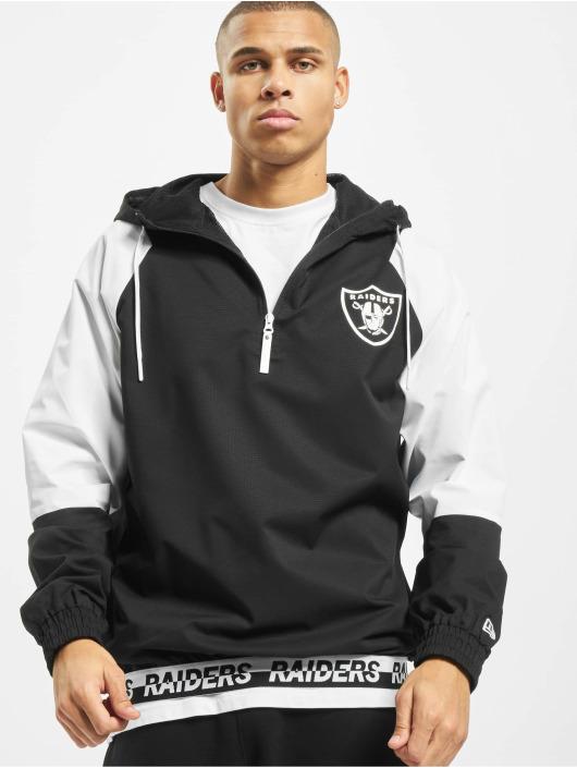 New Era Übergangsjacke NFL Oakland Raiders Windbreaker schwarz