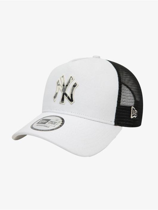 New Era Verkkolippikset MLB New York Yankees Check Infill 9Forty AF harmaa