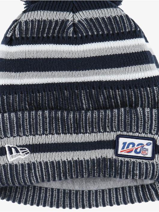 New Era Winter Bonnet NFL Dallas Cowboys Onfield Cold Weather Home blue