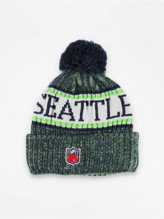 New Era Winter Bonnet NFL Sport Cuff Seattle Seahawks green