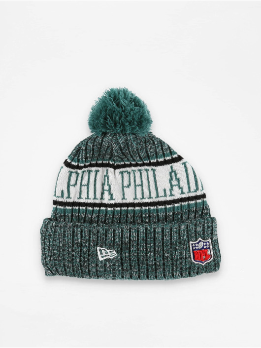 New Era Winter Bonnet NFL Sport Cuff Philadelphia Eagles green